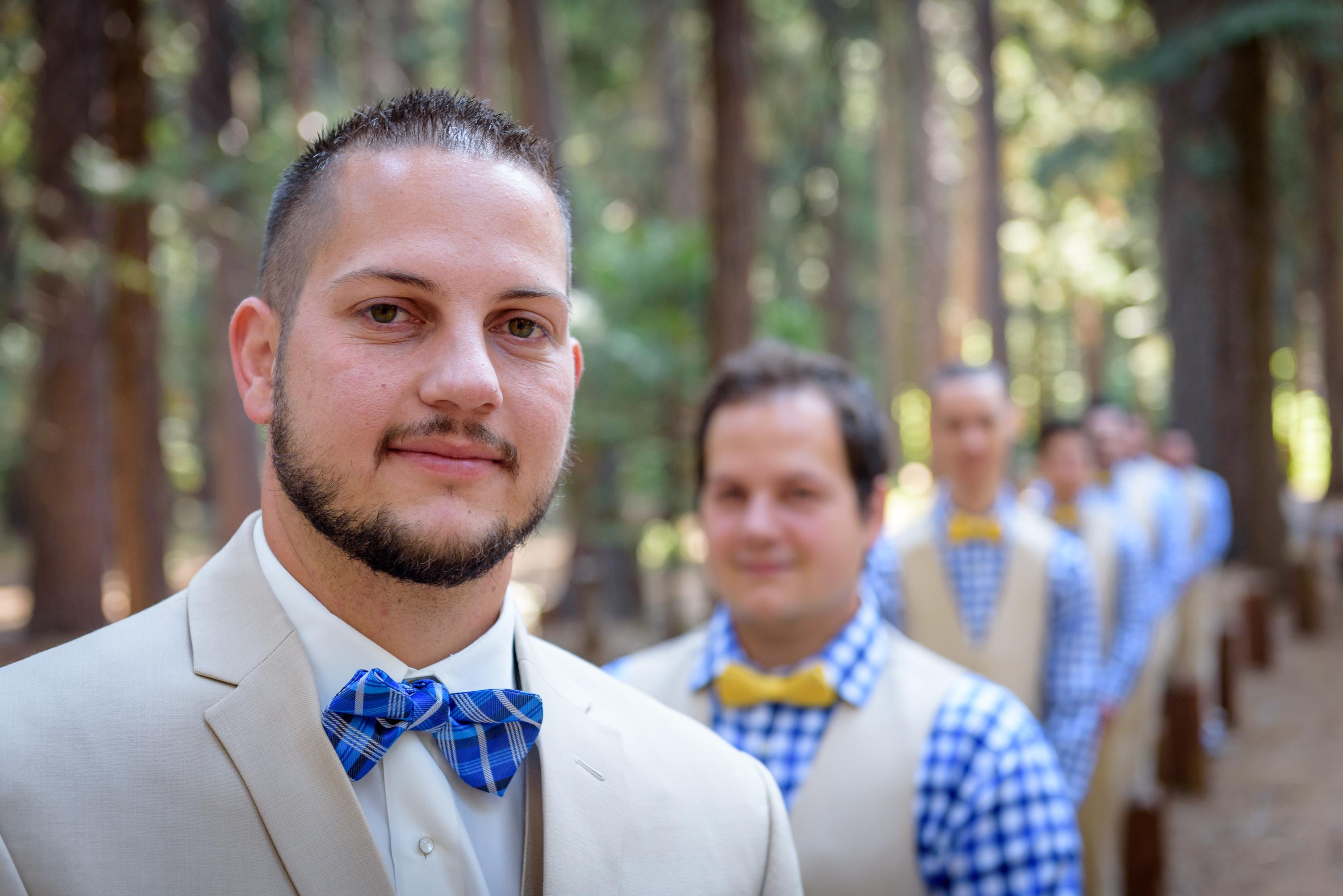 Luke and his groomsmen