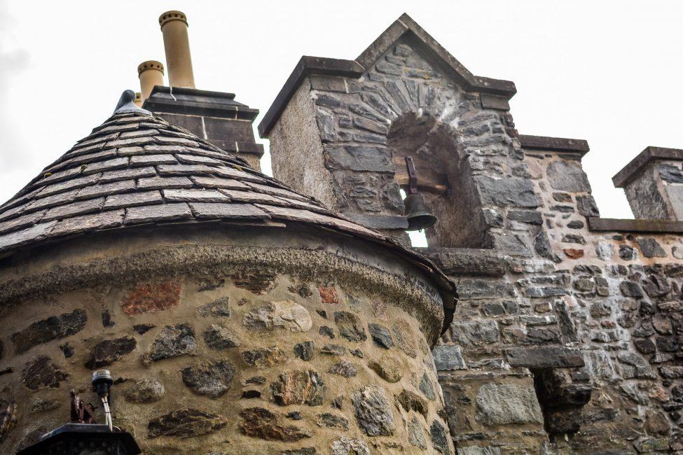 Architectural features of Eilean Donan Castle.