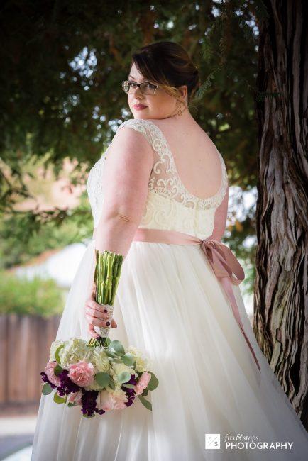 That bride!