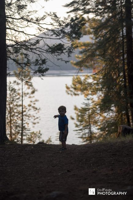 Almost as soon as we arrived, my youngest made it clear he wanted to hike to the lake.
