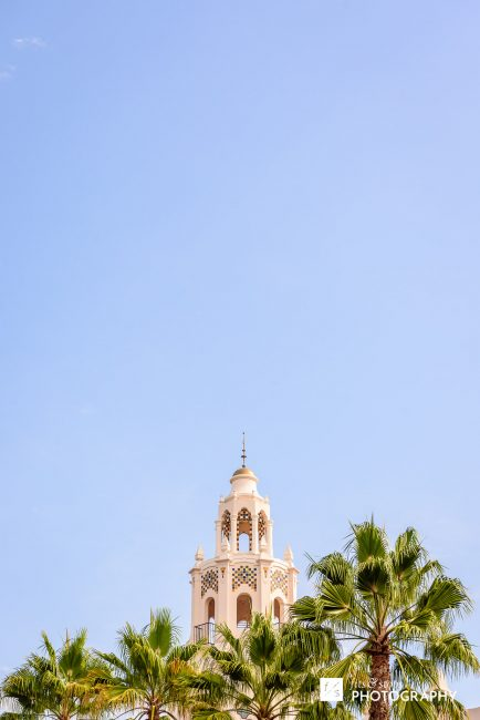 Photo of a building in California Adventures main drag.