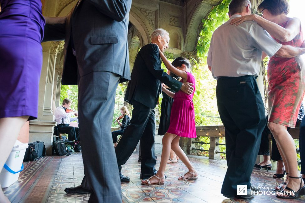 They weren't the only ones dancing on that veranda.