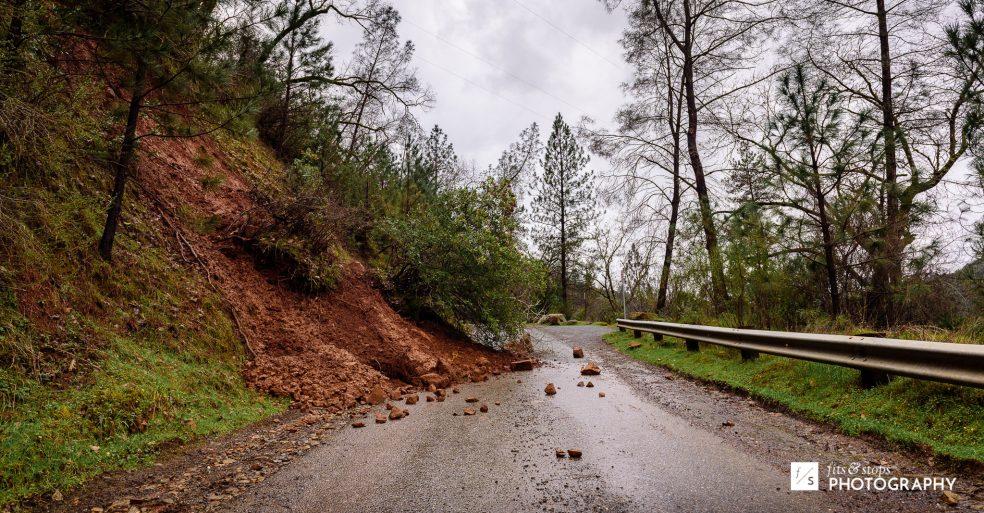 Photograph of a mudslide.