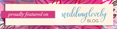 WeddingLovely Blog Badge